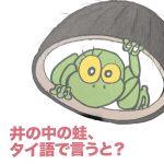 日本未発売「井の中の蛙、タイ語で言うと?」− タイ語テキスト